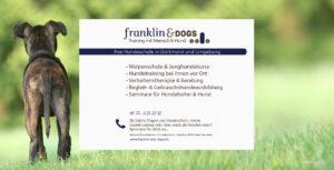 Hintergrundbild - Hundeschule Franklin & DOGS aus Dortmund